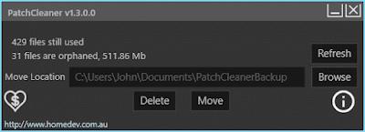تنظيف الحاسوب من الجذور PatchCleaner