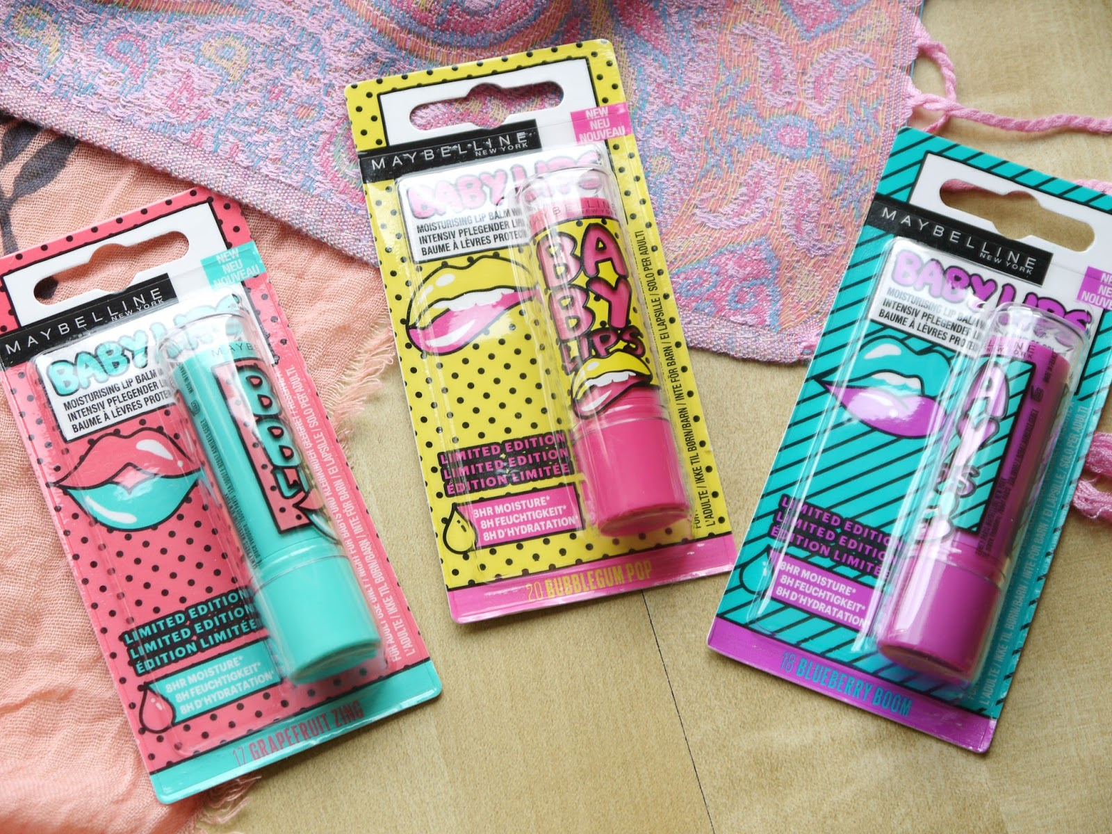New* maybelline baby lips color alia ❤ new york limited edition.