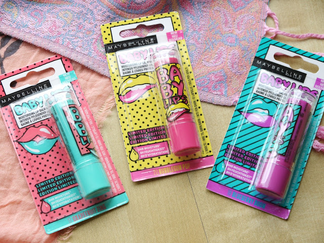 MAYBELLINE BABYLIPS LIP BALMS LIMITED EDITIONS