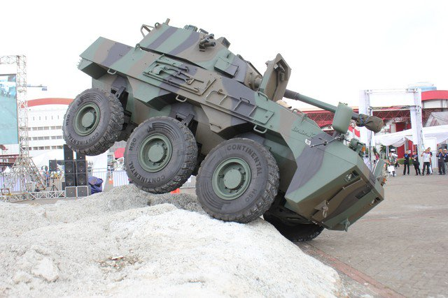 Timoney to upgrade Indonesia's Badak 6x6 armored vehicles