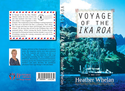Voyage of the Ika Roa by Heather Whelan , Book Cover Graphic Design Kura Carpenter
