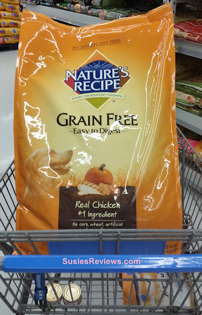 Nature's Recipe Premium Dog Food Now Available At Walmart!