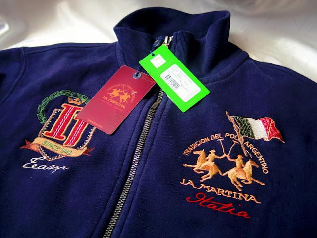 ラ マルティナのトラック ジャケット