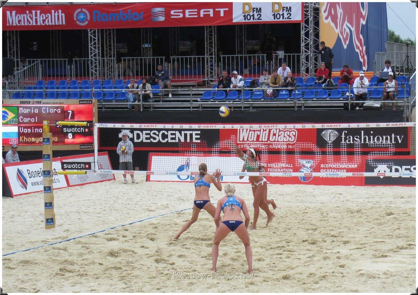 SWATCH FIVB Beach Volleyball World Tour In Moscow