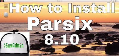 Parsix GNU/Linux 8.10