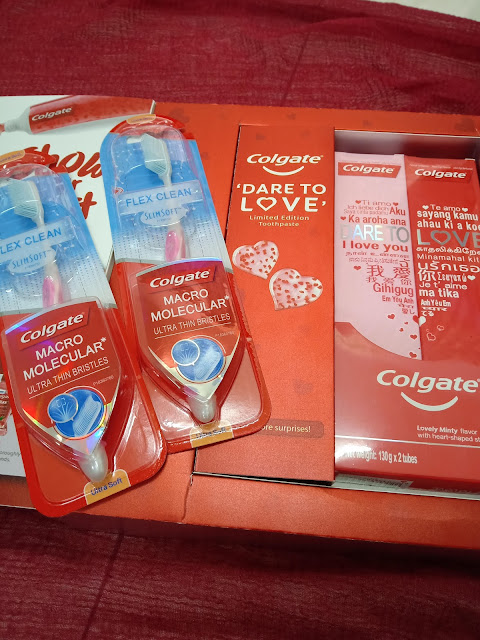 Zahirkan Kasih Sayang Dengan Colgate Limited Edition Dare To Love