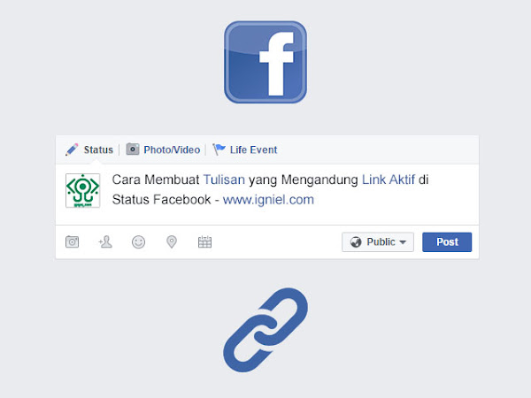 Cara Membuat Tulisan yang Mengandung Link Aktif di Status Facebook - igniel.com