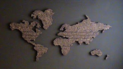 mapa mundo madeira construir decorar: Mapa mundi na parede mapa mundo madeira