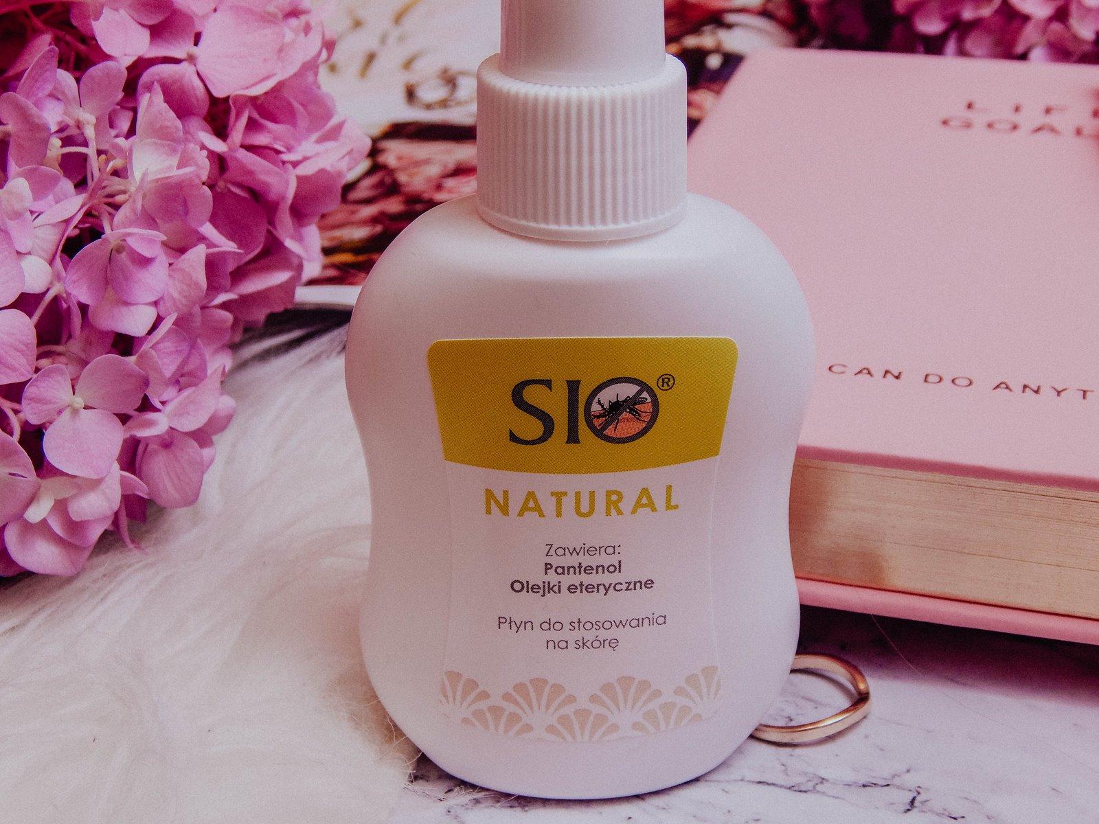 2 sio natural sio żel po ukąszeniu recenzje opinie sprawdzone sposoby na ugryzienia komarów opuchliznę swędzenie alergię bez substancji chemicznych olejki eteryczne naturalne