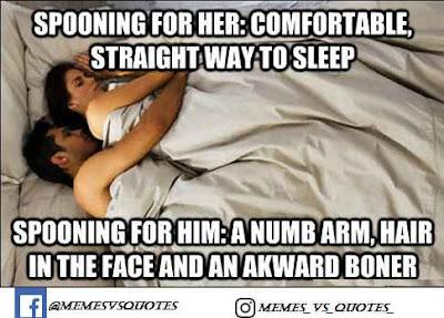 Love spooning
