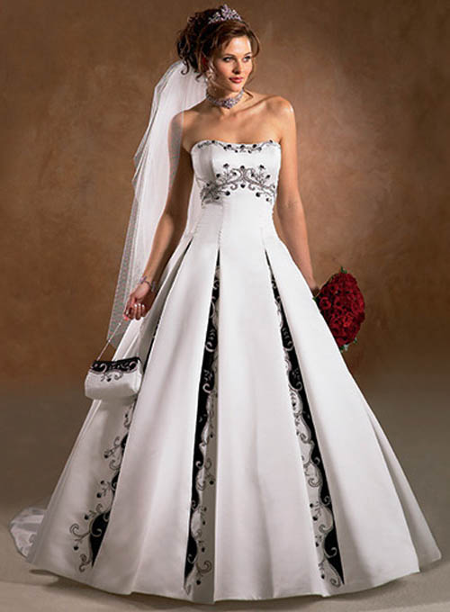 brides older bridal dresses gowns bride gown second marriage colored bridesmaid different ivory elegant plus wears colorful 2nd colors silver