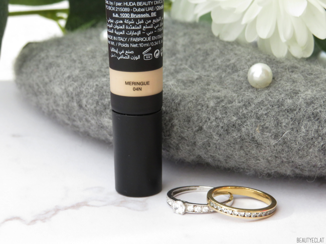 avis Huda Beauty The Overachiever Concealer texture