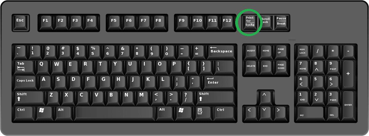 printscreen key