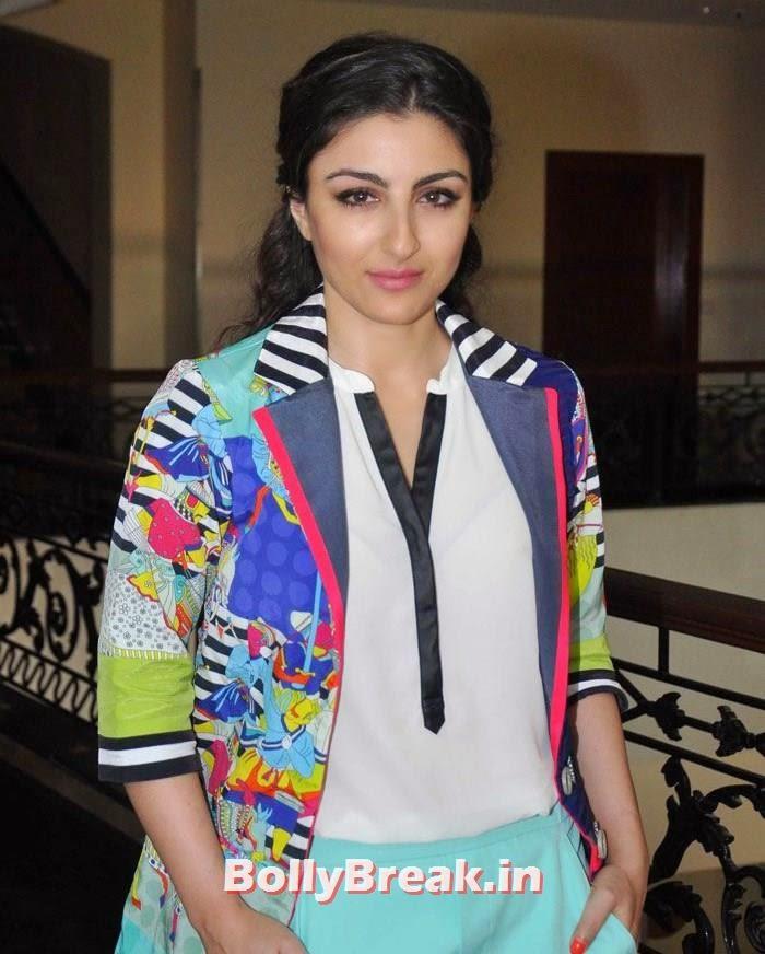 Soha Ali Khan, Soha Ali Khan Promote Movie 'Chaarfutiya Chhokare'
