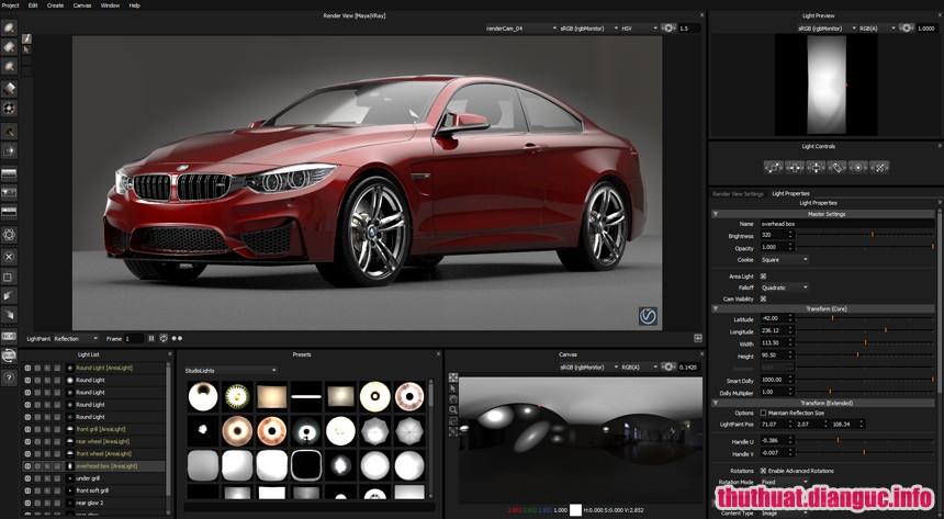 Download HDR Light Studio Carbon 5.7.0 Full Cr@ck – Phần mềm thiết kế chiếu sáng phòng