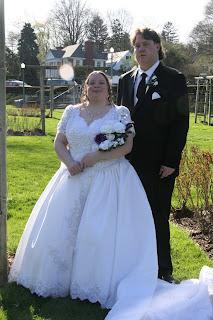 Jamie and John wedding day April 21 2007