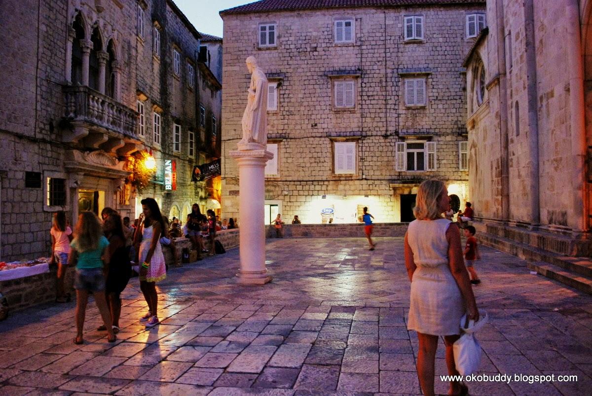 Trogir - market square