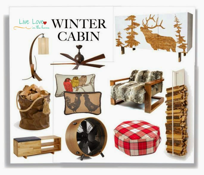 A Modern Winter Cabin Home Collection | Live Love in the Home
