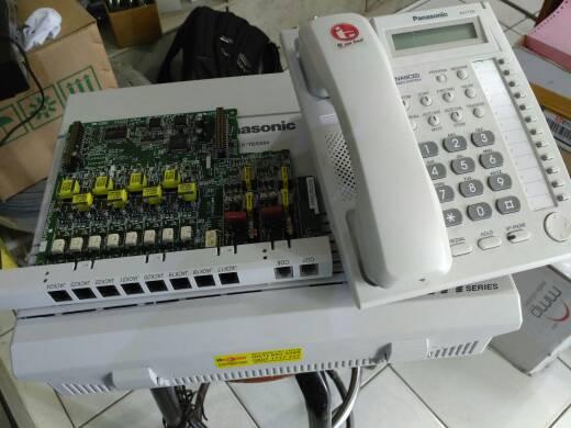 program mesin pabx panasonic ht series