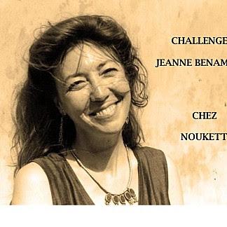 Challenge Jeanne Benameur chez Noukette