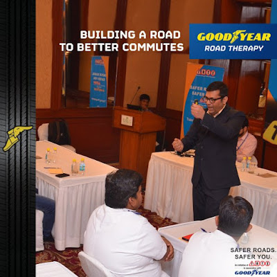 Goodyear Safer Roads Safer You Initiative with IRTE is a change in itself....