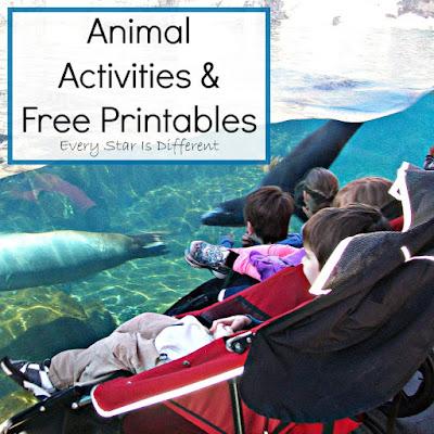 Animal Activities and Free Printables