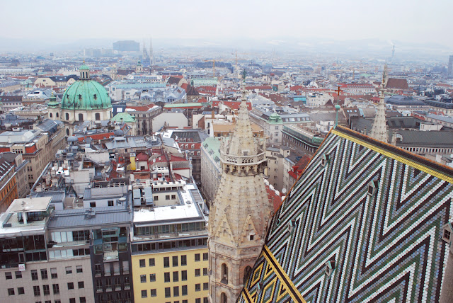 Vienna from St Stephen's Cathedral