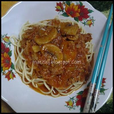 Resepi Spaghetti Versi Melayu