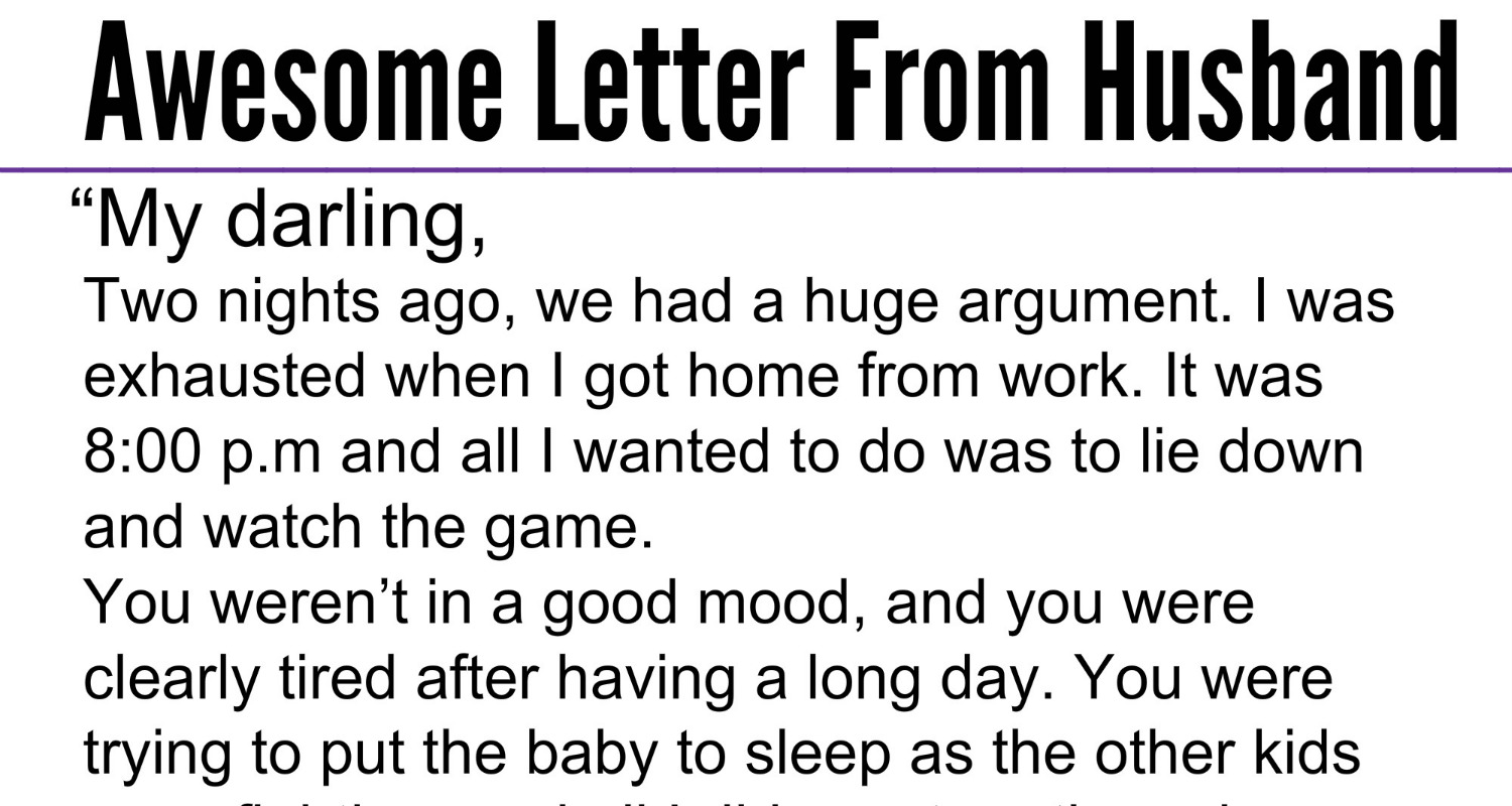 Awesome Quotes: His Wife Left Him And Their Son After A