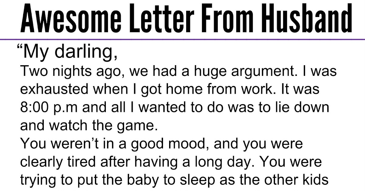 letter to my husband after a fight adorable quotes his left him and their after a 23236 | awesome%2Bletter