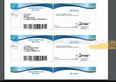 Mengatur Margin Cetak Kartu Anggota SLiMS