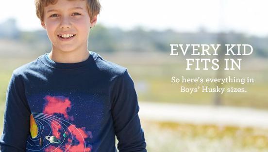 Husky boys clothes store