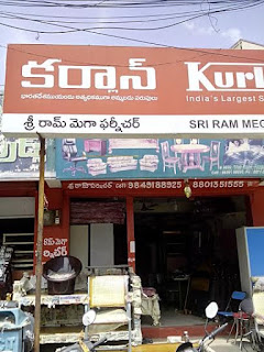 sri ram mega furniture  tirupati