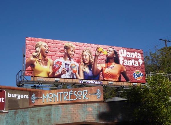 Jordan Fisher Wanta Fanta billboard