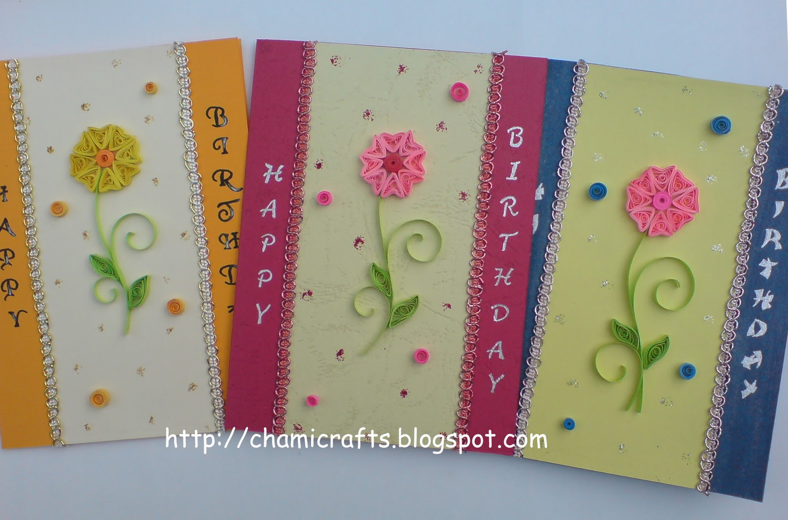Chami Crafts - Handmade Greeting Cards: one design with ...