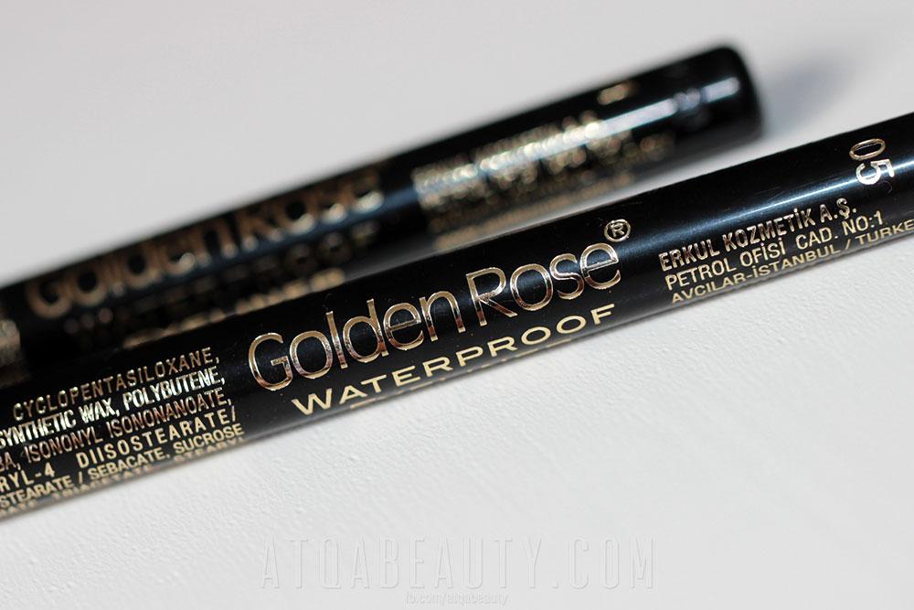 Tanie Malowanie 2 :: Golden Rose, Waterproof Eyeliner
