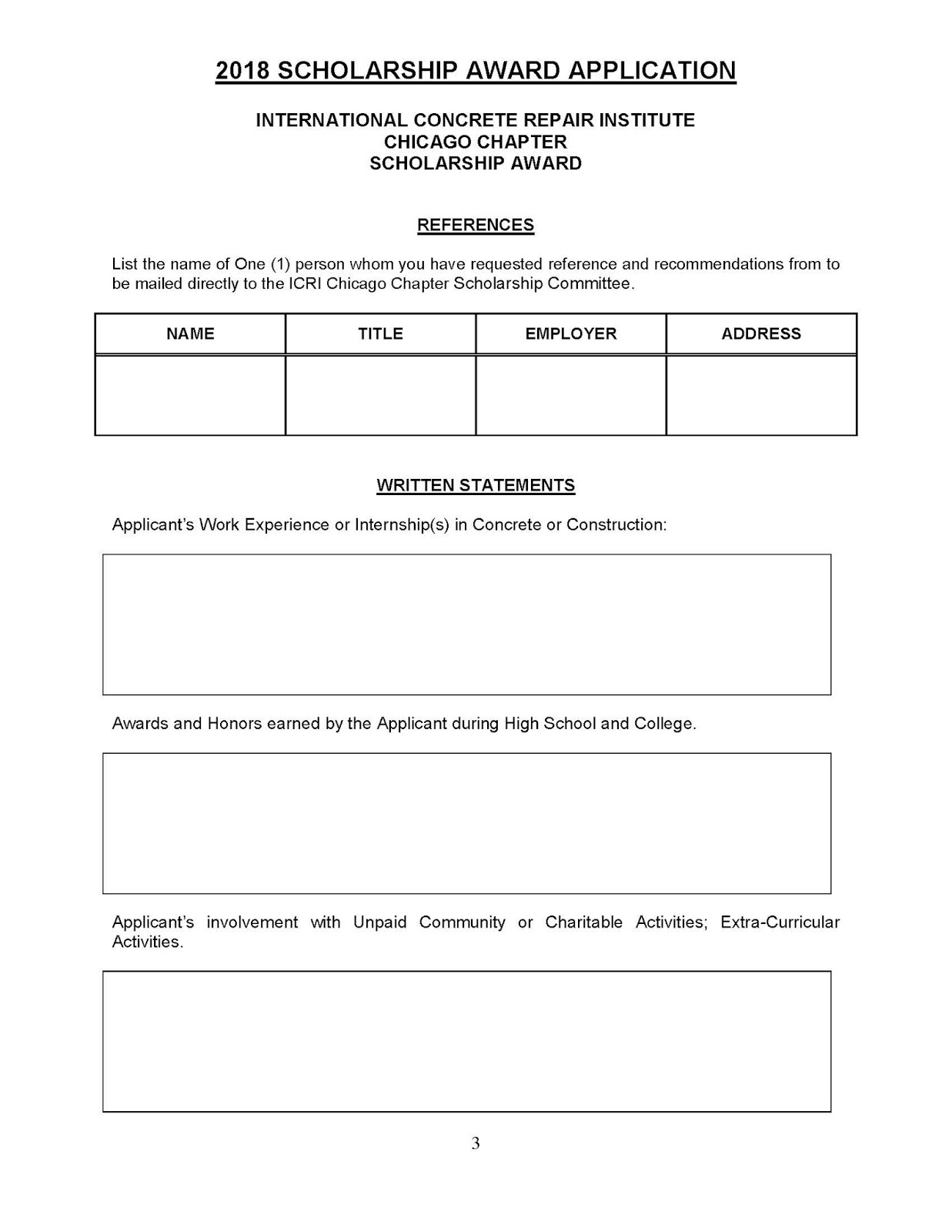Free standard form scholarship application form for engineering free form templates our battle tested template designs are proven to land interviews download for free for commercial or non commercial projects altavistaventures