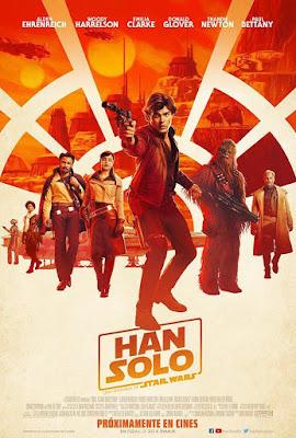 HAN SOLO - La nueva historia de Star Wars - Cartel españa