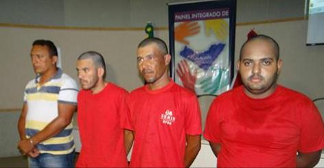 Operação integrada prende quadrilha em Senador Rui Palmeira/AL suspeita de assalto a banco