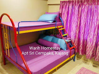 Warih-Homestay-Sri-Cempaka-Master-Bedroom