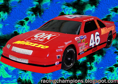 Marty Noll #46 Qik Joe Milazzo Chevrolet Busch North Racing Champions 1/64 NASCAR diecast blog