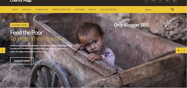 Charity Mag Responsive Template Free Download