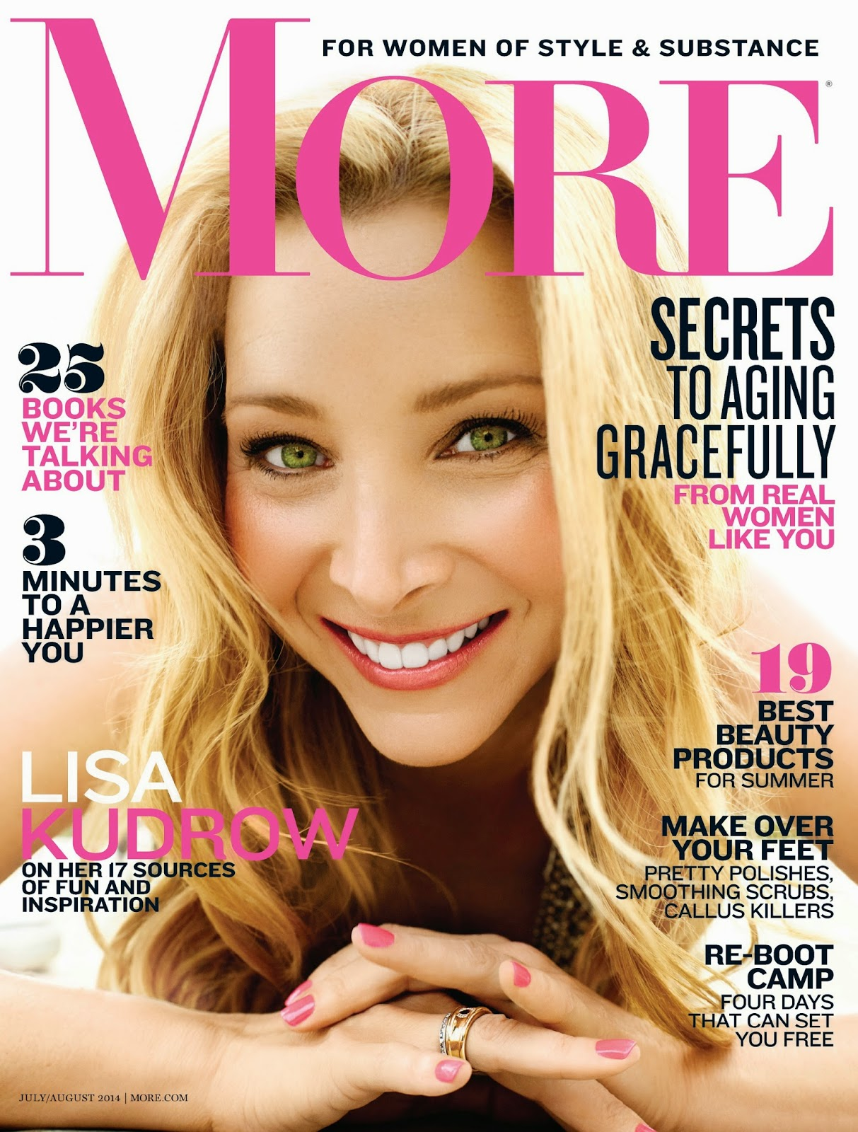 The Charmer Pages : Lisa Kudrow For More