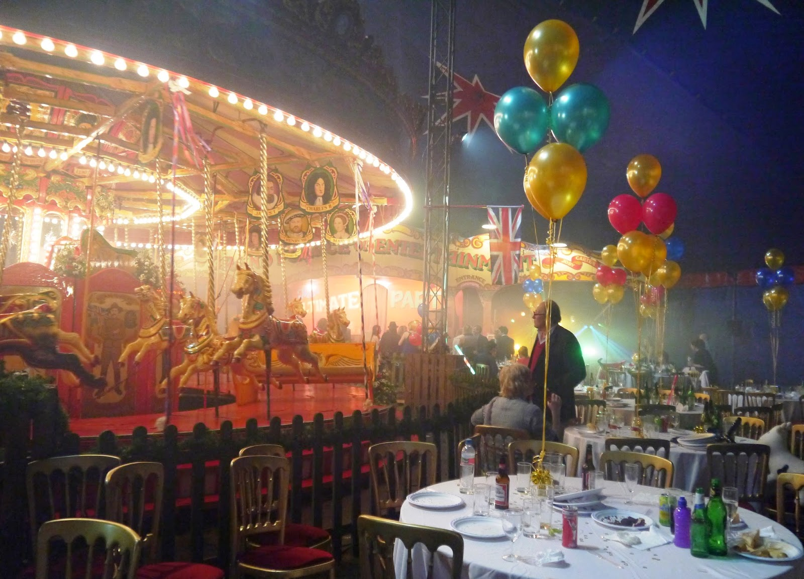 Carters Steam Fair Wedding