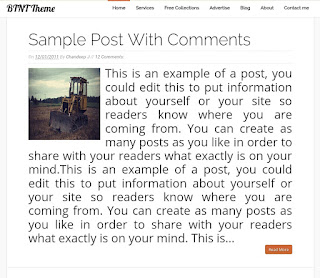 BTNT BLOGGER TEMPLATE EVENT BLOGGING