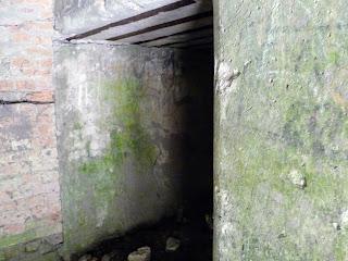 Тараканівський (Дубенський) форт. Вхід до коридорів форту