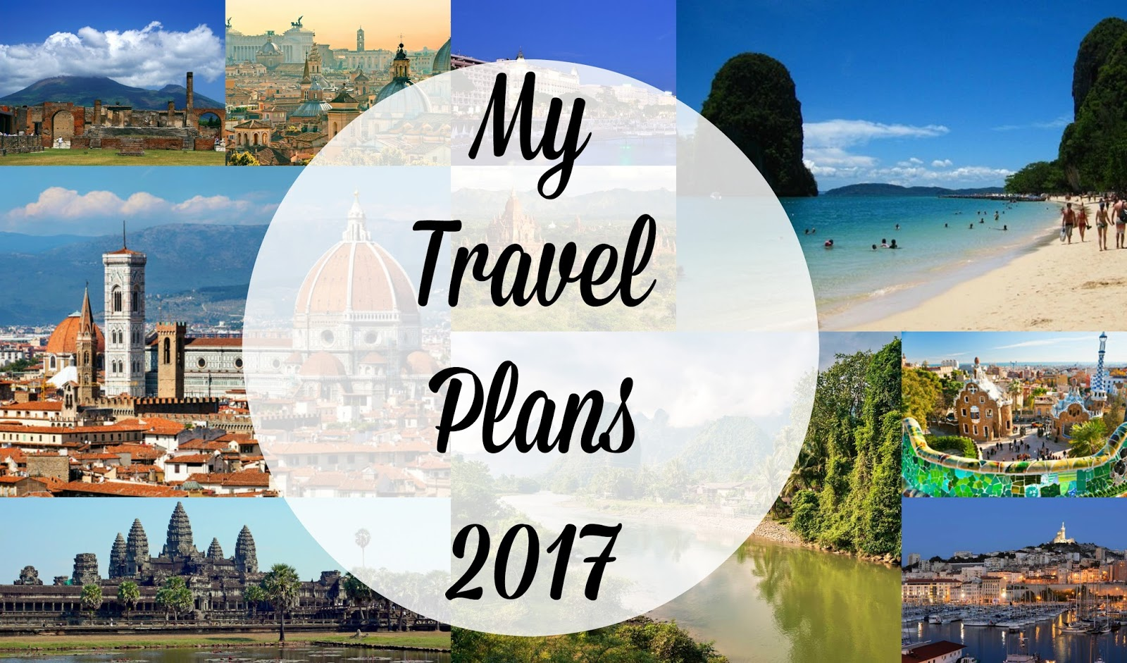 My Travel Plans 2017 | Asia Jade Walker