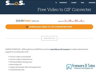 Aoao Video to GIF Converter giveaway