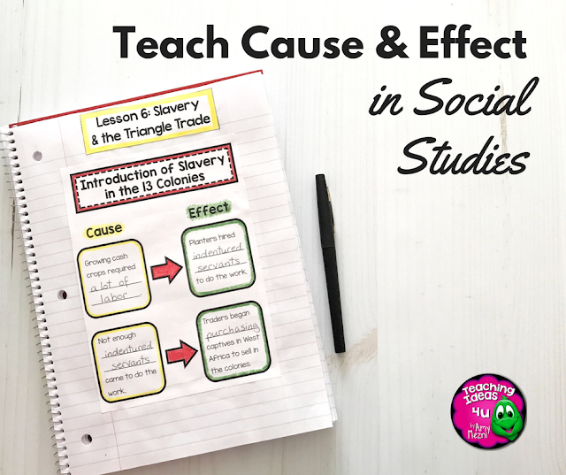 Teach Cause & Effect in Social Studies