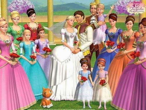 Letras das m sicas da barbie em eu pt 9 as 12 princesas - Barbie 12 princesse ...